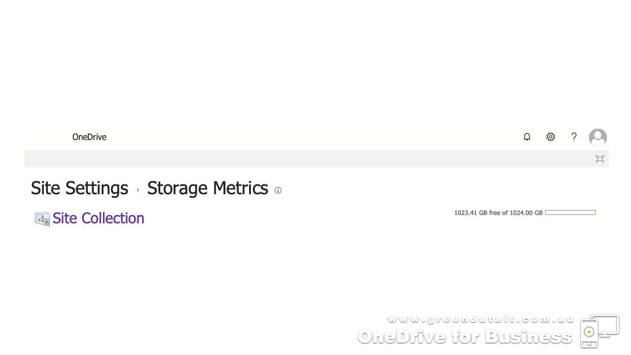 How to check how much OneDrive for Business storage you have left in the cloud