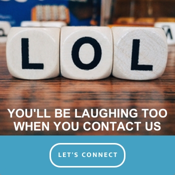 You'll be laughing too when you contact us to upgrade to Office 365 for your Business