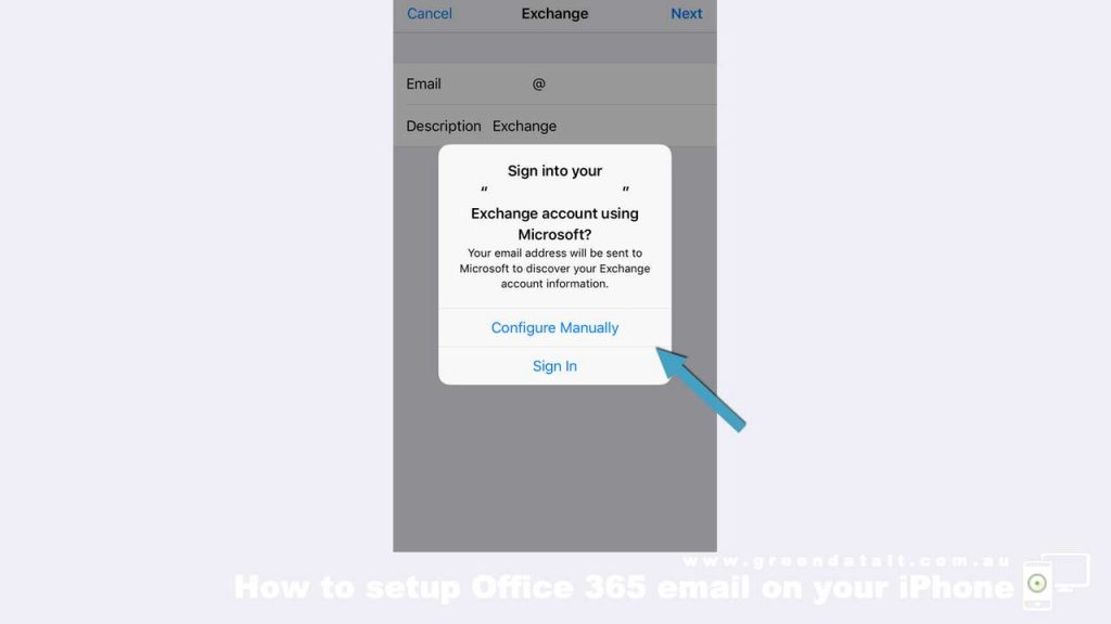 Enter in Email Address and then Sign In to your Office 365 Email