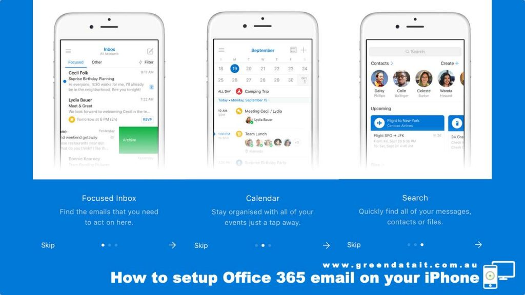Learn about Microsoft Outlook App for iPhone